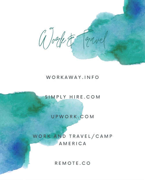 """Work & Travel – no more dilema"""